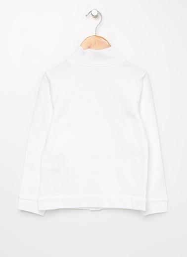 Benetton Sweatshirt Beyaz